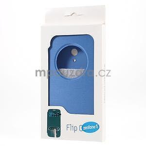 Flipové puzdro na Asus Zenfone 5 - svetlo modré - 6