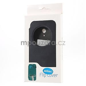 Flipové puzdro na Asus Zenfone 5 - tmavo modré - 6