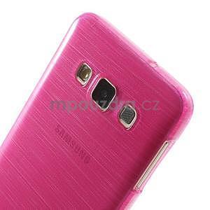 Broušené puzdro na Samsung Galaxy A3 - rose - 6