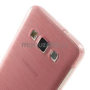 Broušené puzdro na Samsung Galaxy A3 - ružová - 6