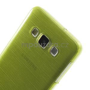 Broušené puzdro pre Samsung Galaxy A3 - zelená - 6