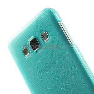 Broušené puzdro pre Samsung Galaxy A3 - tyrkysová - 6