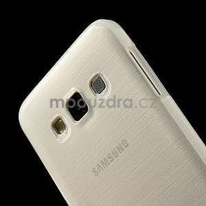 Broušené puzdro pre Samsung Galaxy A3 - bílá - 6