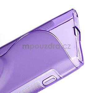 Gélové S-line puzdro pre Nokia Lumia 1020- fialové - 6
