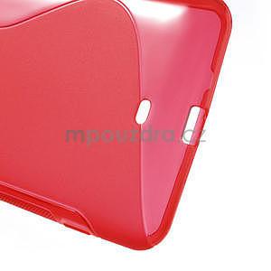 Gélové S-line puzdro pre Nokia Lumia 1320- červené - 6