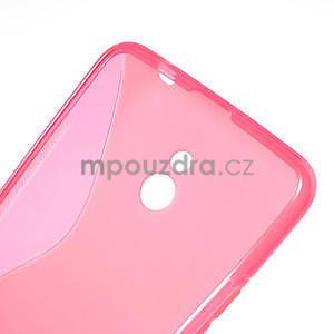 Gélové S-line puzdro pre Nokia Lumia 1320- ružové - 6