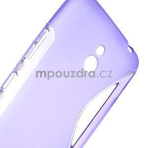 Gélové S-line puzdro pre Nokia Lumia 1320- fialové - 6