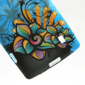 Gélové puzdro na Nokia Lumia 520- motýl - 6