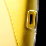 Gélové S-line puzdro na Nokia Lumia 520- transparentný - 6/6