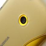 Gélové S-line puzdro na Nokia Lumia 520- sivé - 6/7