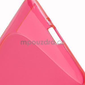 Gélové S-line puzdro pre HTC Desire 600- červené - 6
