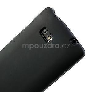 Gélové matné puzdro pre HTC Desire 600- čierné - 6