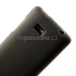 Gélové matné puzdro pre HTC Desire 600- šedé - 6