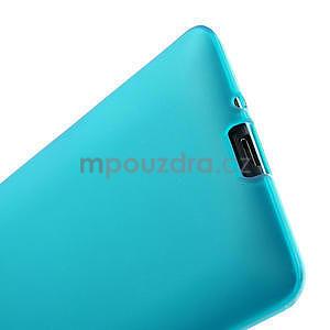 Gélové matné puzdro pre HTC Desire 600- svetlo modré - 6