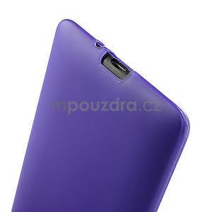 Gélové matné puzdro pre HTC Desire 600- fialové - 6