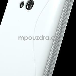 Gélové S-line puzdro pre Nokia Lumia 625- biele - 6