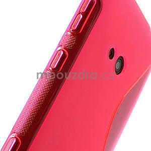 Gélové S-line puzdro pre Nokia Lumia 625- ružové - 6