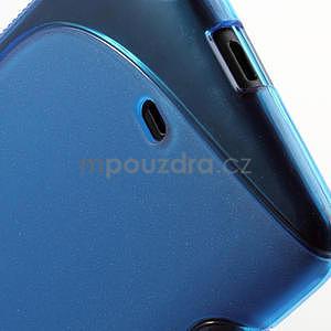 Gélové S-line puzdro pre Nokia Lumia 625- modré - 6