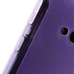 Gélové S-line puzdro pre Nokia Lumia 625- fialové - 6/6