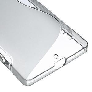 Gélové S-line puzdro na Nokia Lumia 930- sivé - 6