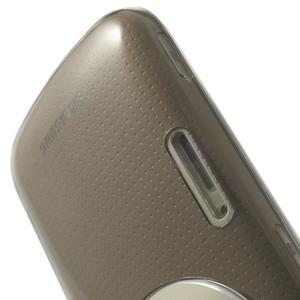 Gélové Ultraslim puzdro na Samsung Galaxy K Zoom- šedé - 6