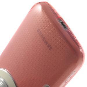 Gélové Ultraslim puzdro na Samsung Galaxy K Zoom- červené - 6