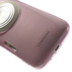 Gélové Ultraslim puzdro pre Samsung Galaxy K Zoom- ružové - 6