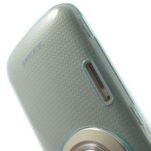 Gélové Ultraslim puzdro na Samsung Galaxy K Zoom- svetlo modré - 6