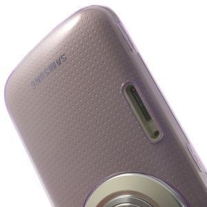 Gélové Ultraslim puzdro na Samsung Galaxy K Zoom- fialové - 6
