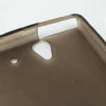 Gélové puzdro pre Sony Xperia Z L36i C6603- sivé - 6/7