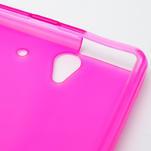 Gélové puzdro na Sony Xperia Z L36i C6603- růžové - 6/7