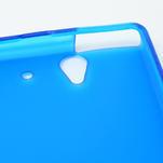 Gélové puzdro na Sony Xperia Z L36i C6603- modré - 6/7