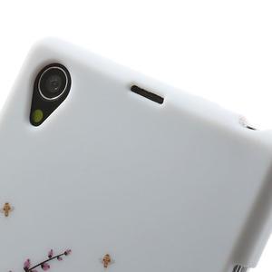 Gélové puzdro pre Sony Xperia Z1 C6903 L39- kvitnúce vetvička - 6