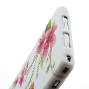 Gelové pouzdro na Sony Xperia Z1 C6903 L39- květy a motýl - 6