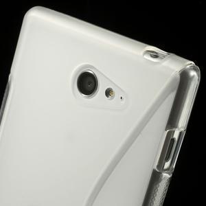 Gélové S-line puzdro pre Sony Xperia M2 D2302- transparentný - 6