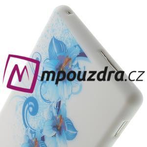 Gélové puzdro na Sony Xperia M2 D2302 - modrá lilie - 6