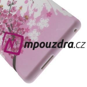 Gélové puzdro na Sony Xperia M2 D2302 - kvetoucí větvička - 6