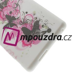 Gélové puzdro na Sony Xperia M2 D2302 - motýlí květ - 6