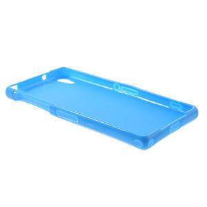 Gélové matné puzdro na Sony Xperia Z2 D6503- modré - 6