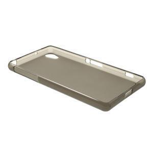 Gélové matné puzdro pre Sony Xperia Z2 D6503- sivé - 6