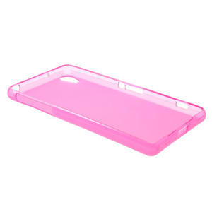 Gélové matné puzdro pre Sony Xperia Z2 D6503- ružové - 6