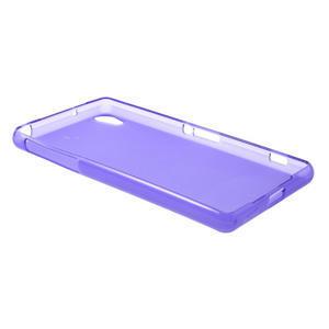 Gélové matné puzdro pre Sony Xperia Z2 D6503- fialové - 6