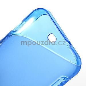 Gélové S-line puzdro pre HTC Desire 200- modré - 6