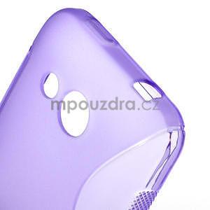 Gélové S-line puzdro pre HTC Desire 200- fialové - 6