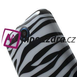 Gélové puzdro pre HTC Desire 310- zebrované - 6