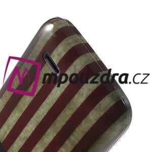 Gélové puzdro na HTC Desire 310- USA vlajka - 6