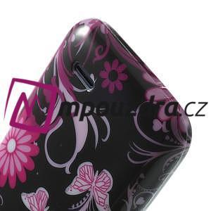Gélové puzdro na HTC Desire 310- motýlci - 6