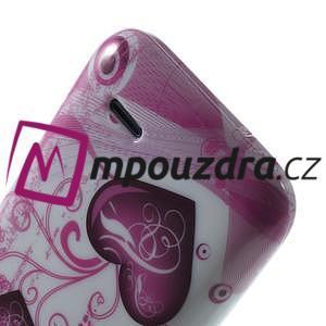 Gélové puzdro na HTC Desire 310- dvě srdce - 6