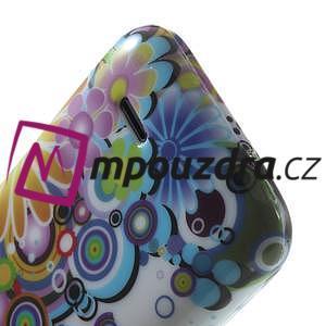 Gélové puzdro na HTC Desire 310- farebné květy - 6