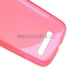 Gélové puzdro pre HTC Desire 500- růžové - 6